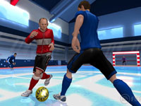 Working out indoor with Wayne Rooney in FIFA Soccer 12