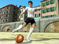 5-on-5 streetball in FIFA Soccer 12