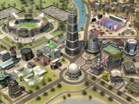 Your own personalized Soccer City from FIFA Soccer 12