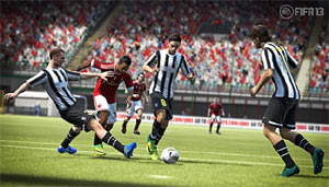 Juventus vs. Milan in FIFA 13