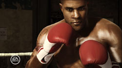 Boxer Andre Bishop featured in the Champion Mode of Fight Night Champion