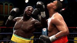 James Toney hitting Eddie Chambers in 'Fight Night Round 4'