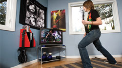 A personalized GameOn Video Gaming Console Storage unit