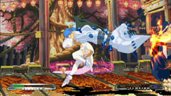 Special character moves in 'Guilty Gear XX Accent Core Plus'
