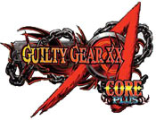 'Guilty Gear XX Accent Core Plus' game logo