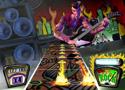New rockability playable character Eddie Knox from Guitar Hero II