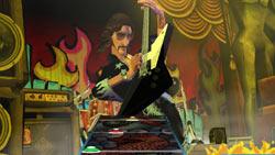 70's rocker going solo in Guitar Hero II