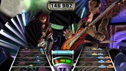 Multiplayer action in Guitar Hero II