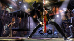 Slash boss battle from Guitar Hero III: Legends of Rock