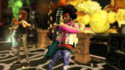 Soloing as a Hendrix look-alike in Guitar Hero III: Legends of Rock