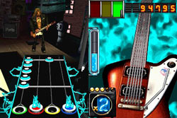 Racking up multipliers with star power in Guitar Hero: On Tour