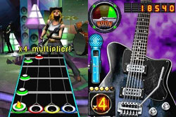 Filing your rock meter in Guitar Hero On Tour: Decades