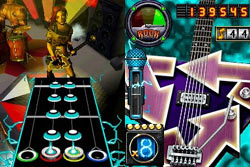 Racking up multipliers with star power in Guitar Hero On Tour: Decades