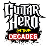 Guitar Hero On Tour: Decades game logo