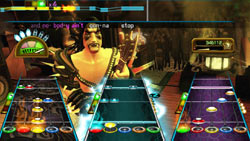 Multiplayer options in 'Guitar Hero: Smash Hits'