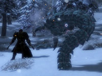 Thief ice combat from Guild Wars 2