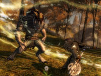 Axe combat from Guild Wars 2