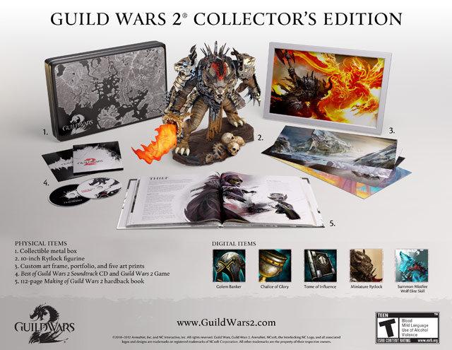 Amazon.com: Guild Wars 2: Collector's Edition: Video Games