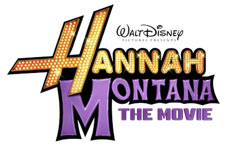 'Walt Disney Pictures Presents Hannah Montana The Movie' game logo