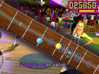Rhythm gameplay 'Walt Disney Pictures Presents Hannah Montana The Movie'
