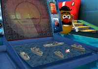 Playing Battleship with Mr. Potato Head in 'Hasbro Family Game Night'