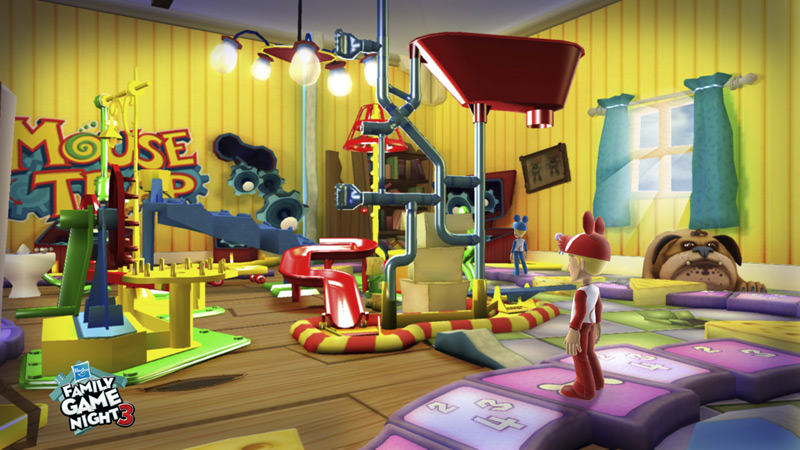 Screenshot From The Version Of Mouse Trap In Hasbro Family Game Night 3
