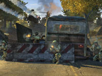 32-player online multiplayer support in Homefront