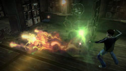 Wizard dueling in 'Harry Potter and the Half-Blood Prince' the Video Game