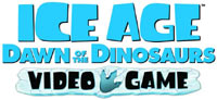 'Ice Age: Dawn of the Dinosaurs' the Video Game logo