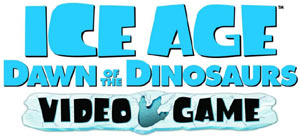 'Ice Age: Dawn of the Dinosaurs' Video Game logo