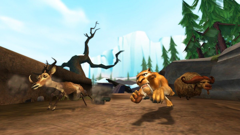 Amazon.com: Ice Age: Dawn of the Dinosaurs - Nintendo Wii