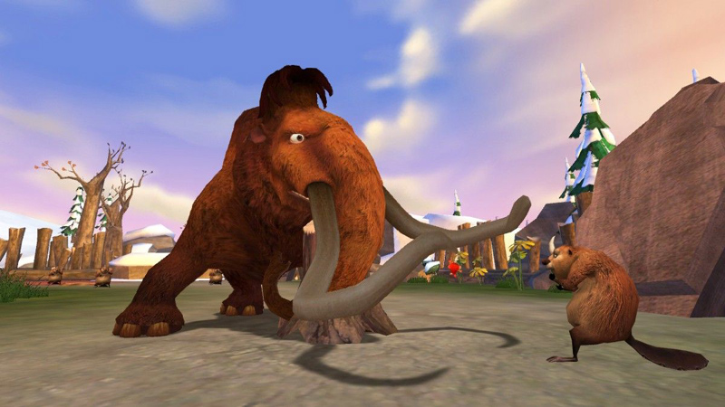 Amazon.com: Ice Age: Dawn of the Dinosaurs - PC: Video Games