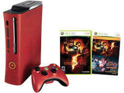 Amazon.com: Xbox 360 Resident Evil 5 Elite Red Console