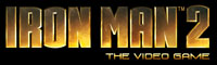 Iron Man 2 the Video Game game logo