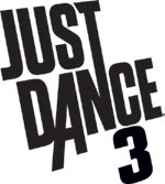 Just Dance 3 game logo