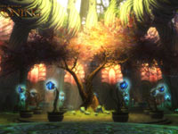 A lush game environment from Kingdoms of Amalur: Reckoning