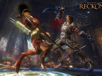 Unleashing a special finishing move against an enemy in Kingdoms of Amalur: Reckoning