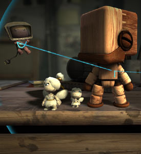 Creating a custom SackBot in LittleBigPlanet 2