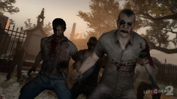 Zombies coming for you in Left 4 Dead 2
