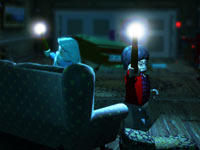 Co-op gameplay screenshot from LEGO Harry Potter: Years 5-7