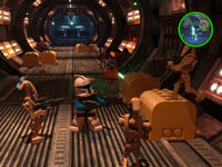 Taking control of multiple scenes using SceneSwap functionality in LEGO Star Wars III: The Clone Wars