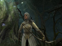 Elf character from Lord of the Rings: War in the North