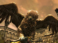 The Great Eagle Beleram from Lord of the Rings: War in the North