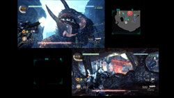 Local split-screen co-op play from Lost Planet 2
