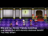In-game dialogue from Lunar: Silver Star Harmony