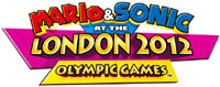 Mario & Sonic at the London 2012 Olympic games game logo