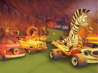 Authentic kart racing in Madagascar Kartz for Wii
