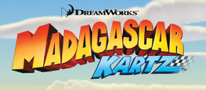 Madagascar Kartz game logo