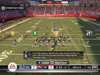 Onfield playcalling strategy and advice in Madden NFL 11