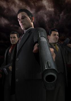 Vito taking aim at you in Mafia II